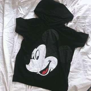 清衣櫃-正韓二手米老鼠短袖T-shirt上衣