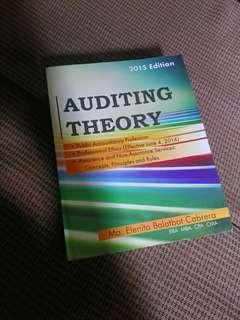 Auditing Theory by Cabrera 2015 edition