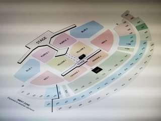 BTS Concert Tickets - Cat 2 Red 2