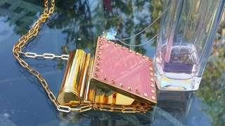 Valentino baby rose Mirror/lipstick holder 100%new