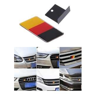 [READY STOCK] German Flag Front Grille Emblem