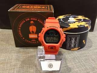 Japan Exclusive JDM Casio G-Shock x Porter Limited Edition Collaboration DW6900 Watch