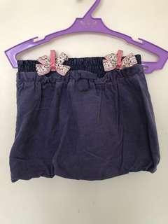 Benetton corduroy skirt