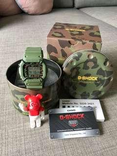 Autographed Casio G-shock x SBTG Sabotage Limited Edition Collaboration DW5600 Square Watch