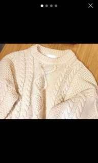 2 little bob 麻花針織上衣women sweater
