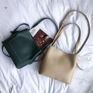 Women Leather Sling Bag/ Handbag