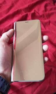 Samsung S8 Plus Gold Flip Cover Original
