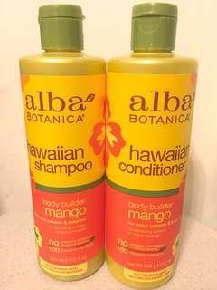 Alba Botanica 夏威夷芒果洗髮護髮套裝 Hawaiian Shampoo and conditioner