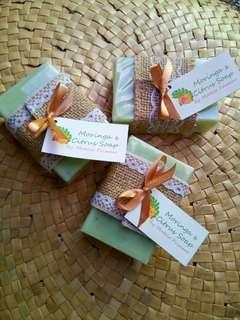Moringa & Citrus Organic Soap