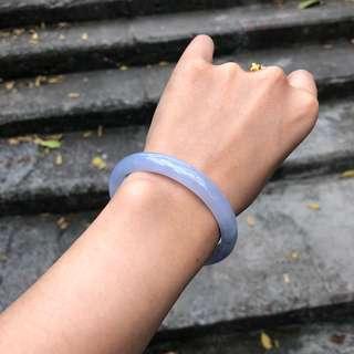 翡翠手鐲 藍紫