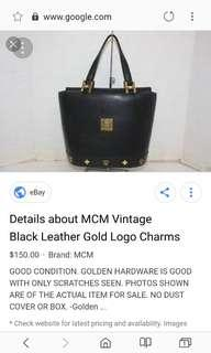 Authentic MCM