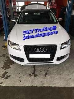 #Jetexexhausts_audi. #jetexexhaustsasialink.                      Audi A4 1.8T b8 returned to replace race pipe and downpipe catless for tracking purposes