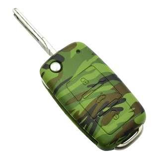 [READY STOCK] Camouflage Silicon Key Cover for Volkswagen