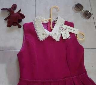 Dress pink suede NEW