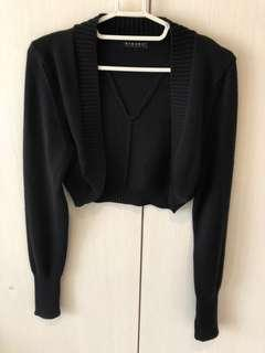 🚚 Sisley短版針織小外套