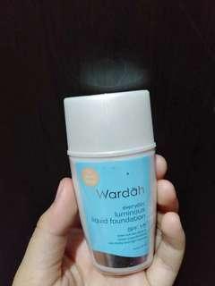 Wardah foundation liquid 02 light beige