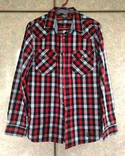 EVERLAST Red Checkered Shirt