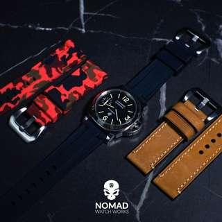 🚚 V3 Silicone Strap in Black (available in 22 and 24mm)