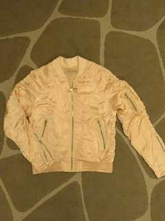 See by Chloe Powder Pink Satin Jacket