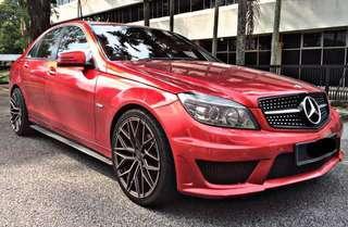 Sambung bayar Mercedes CGI c180berdeposit