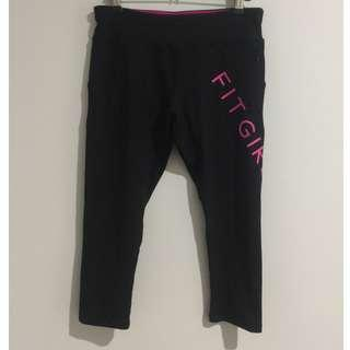 Lorna Jane Fit Girl Support Tights Size Small