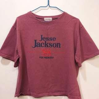 🚚 乾燥玫瑰色T恤