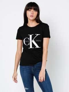 Calvin Klein black logo t-shirt/ brand new with tags/ size small