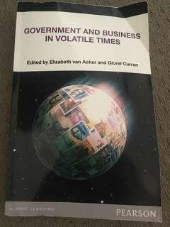 Government and business in volatile times