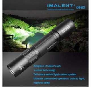 IMALENT DM21 XM-L2(U4) USB Charger Waterproof 18650 LED Flashlight