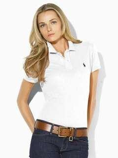Polo Ralph Lauren white polo/ brand new without tags/ size xs