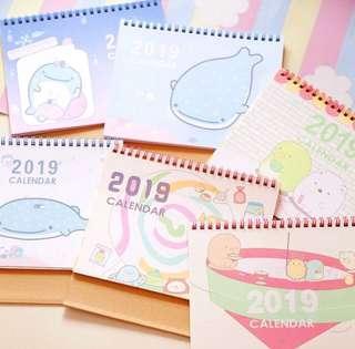 3 for $10 Jinbesan sumikko calendar 2019