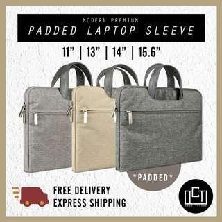 🚚 🔅cT🔅MODHAND PREMIUM Laptop bag laptop sleeve casing for all laptops bag waterproof CARRYING HANDLE BAGGAGE