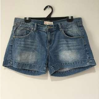 Mossimo Denim Shorts Size 14