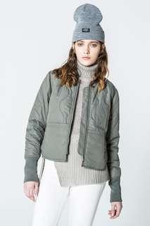 Cheap Monday Quilted Bomber Jacket 95%new