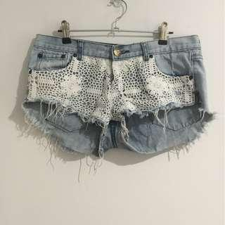One Teaspoon Shorts Size 10
