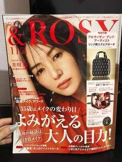 GLOW & ROSY Japanese Magazine