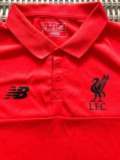 New Balance💯% Authentic Liverpool polo t for SGD$27 (size US S, GB S, EU S, Asia M)