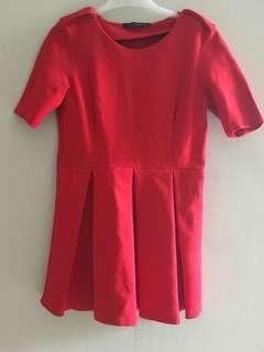 Zara Mini Red Dress