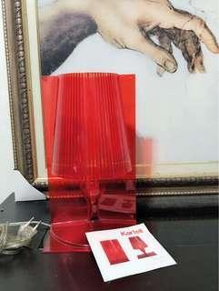Kartell Take table lamp-Italian designer ferruccio laviani