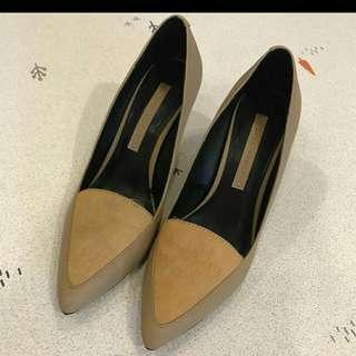 Zara fur Heels Shoes