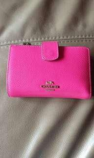 Coach Pink Wallet (free courier)