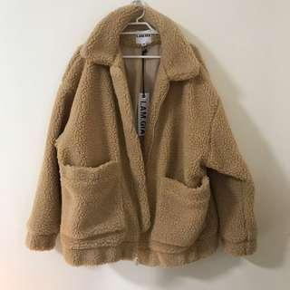 I am Gia pixie teddy coat