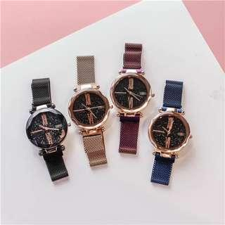 Popular GALAXY Magnetic Strap Watch