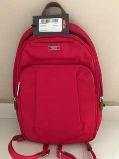 New Red Colour Tumi Convertible Backpack/Sling Bag