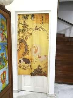 In Stock Door Curtain Japanese Partition FengShui