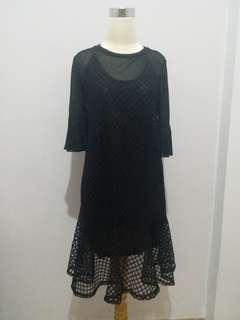 Dress Hitam Luna