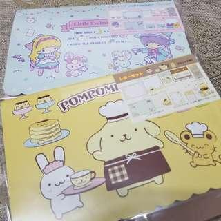 Sanrio信紙套裝