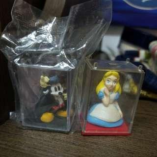 米奇 愛麗絲 擺設 Mickey Alice