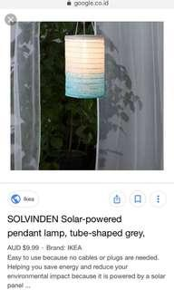 Sale Lampion solar ikea solvinden normal 129.000
