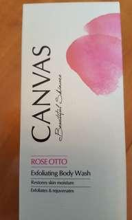 CANVAS 玫瑰保濕磨砂沐浴露 Rose Otto Exfoliating Body Wash